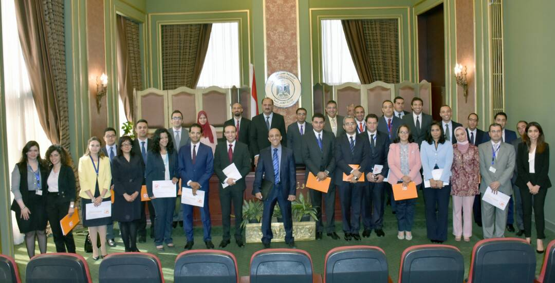 The Graduation of the first batch from the Developing Egyptian Diplomats Skills program