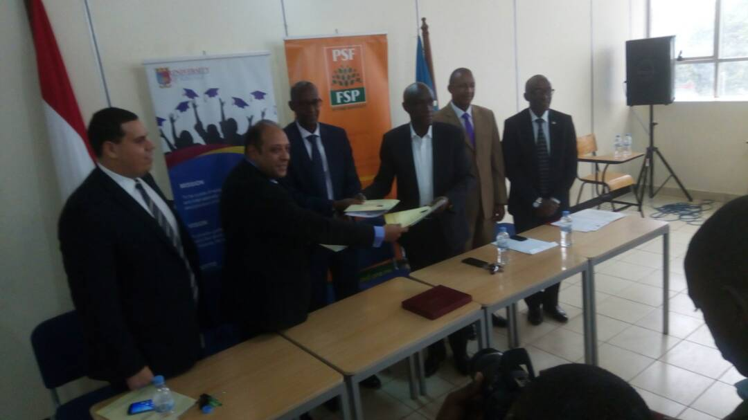 PSF, University of Kigali Strikes a deal To Train 1,000 Young Entrepreneurs