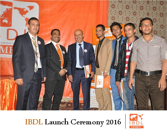Relaunch Ceremoney of IBDL Yemen